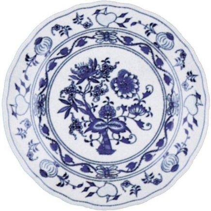 Talíř mělký 19 cm Cibulový vzor Cibulák Original Bohemia