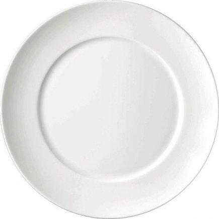 Talíř mělký 260 mm, kulatý, porcelán, model Universo, ESCHENBACH