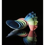 Talíř hluboký 22 cm Daisy Lilien lososová