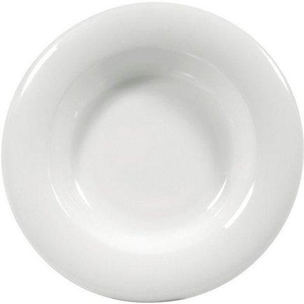 Talíř hluboký 190 mm Savoy, bílý, elegantní, luxusní, Seltmann